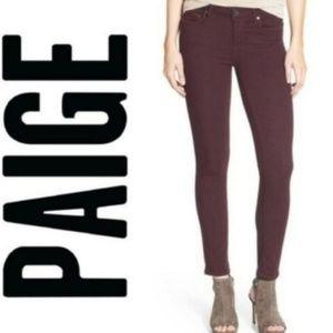 Paige Denim Verdugo Ankle Skinny Jean